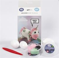 Unicorn Foam Clay Kit- rose pink