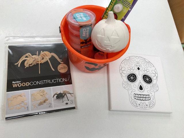 Halloween Half-Term Craft Kit - non-fired