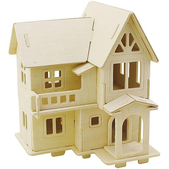 3D Wooden Construction kit - House with Veranda
