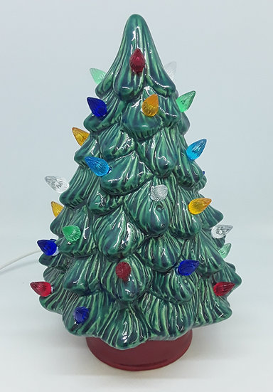 "Med Traditional Christmas Tree - 10"" h"