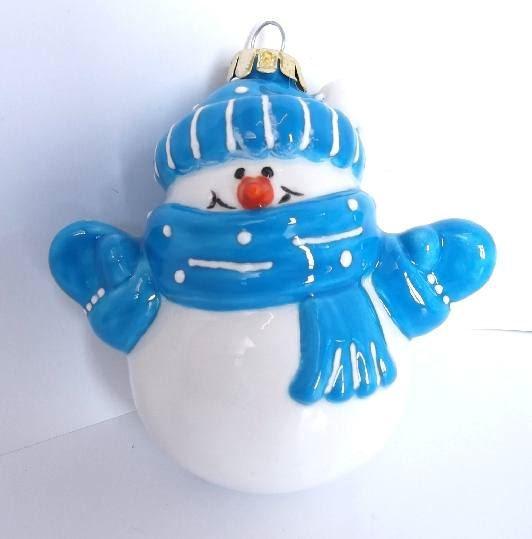 3D Snowman bauble
