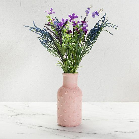 Textured Bud Vase - Bobble Detail