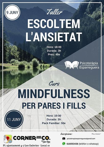 Psicología en Esparreguera | taller ansiedad
