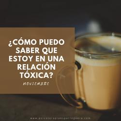 relacion toxica