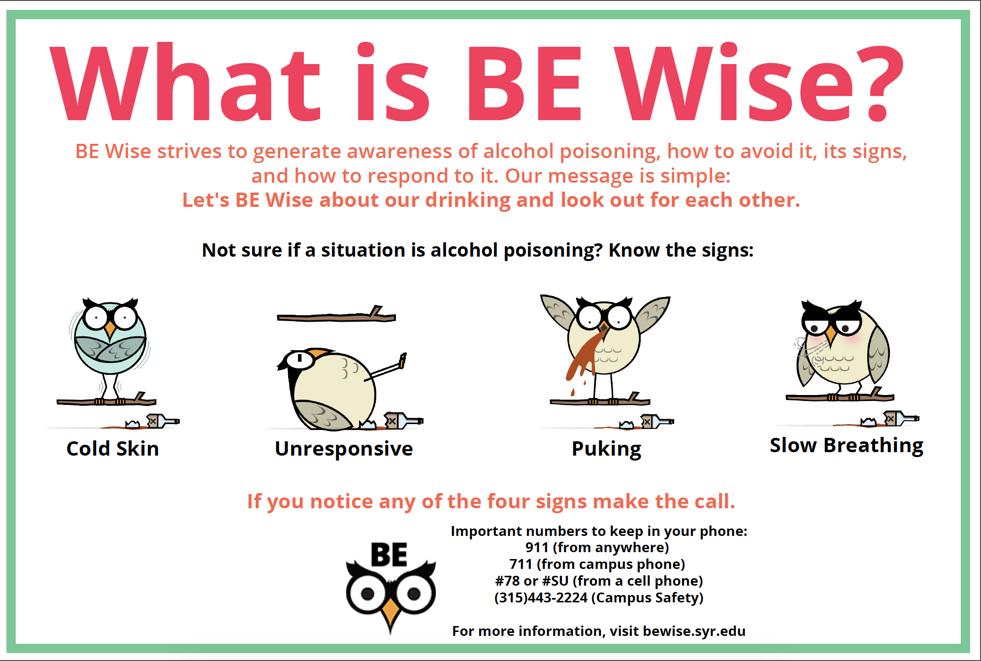 BE Wise Infographic