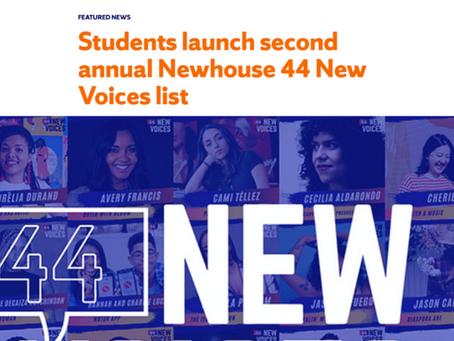 44 New Voices