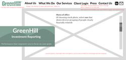 GreenHill Website Mock