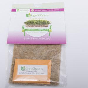 Purple Kohlrabi Microgreens Kit