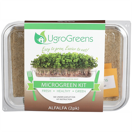 Alfalfa Microgreens Kit