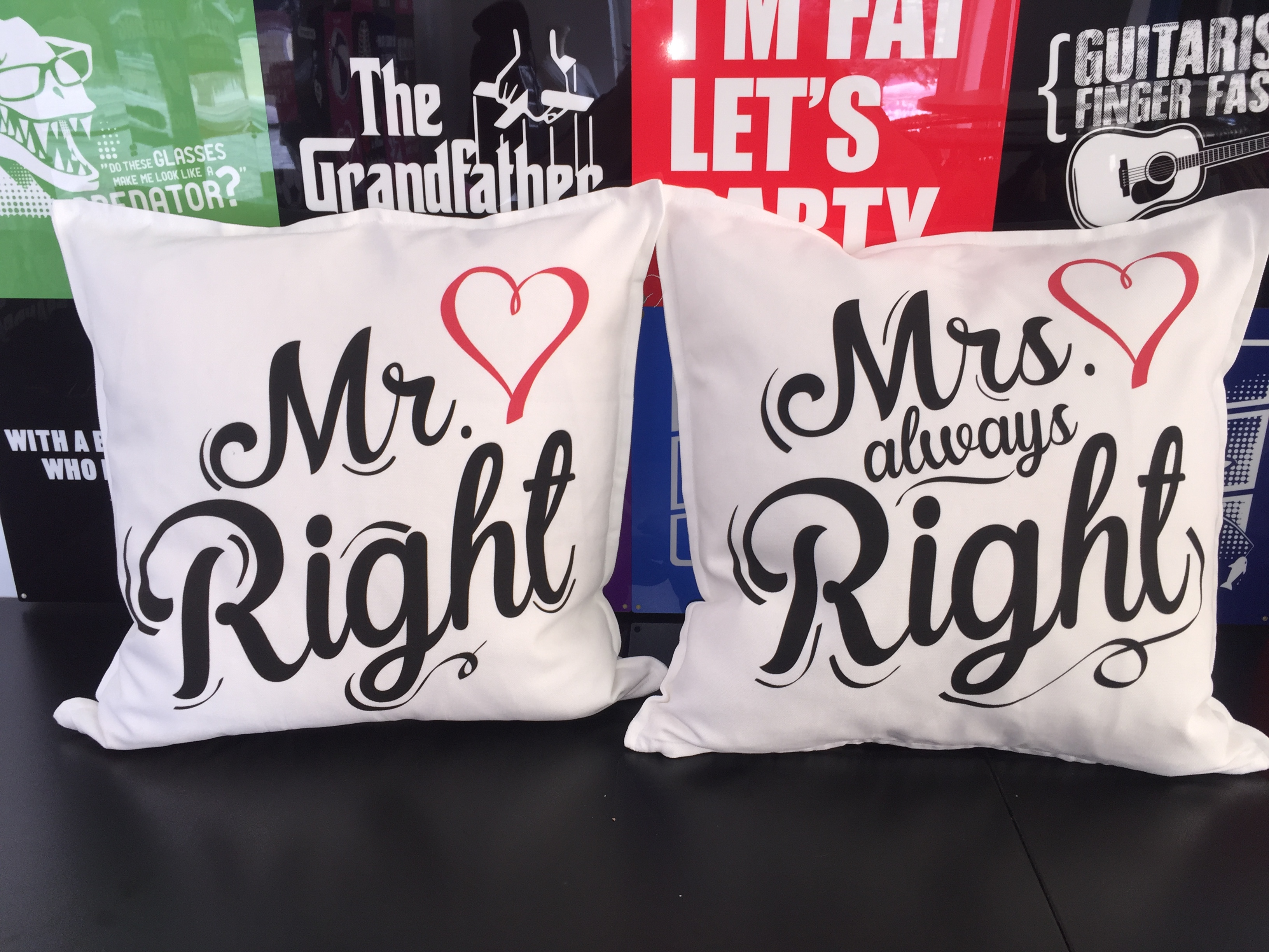 custom pillows