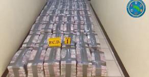 PCD decomisó 954 kg de droga en contenedor dentro de la TCM