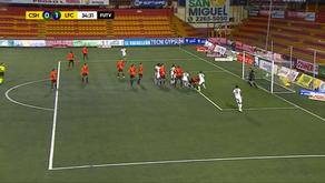 Limón FC amargó la noche del campeón nacional