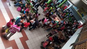 Terminal Caribeños es todo un caos.