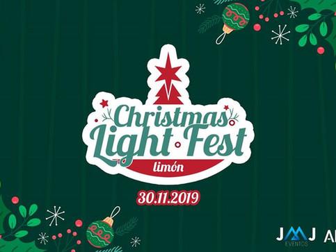 El Christmas Light Fest dará el banderazo inicial a la navidad en Limón