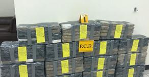 Policía decomisó cocaína dentro de cargamento de banano en muelle de Moín