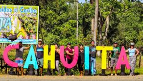 (Video) Vecinos de Cahuita se unieron para luchar contra el covid-19 y embellecer su comunidad
