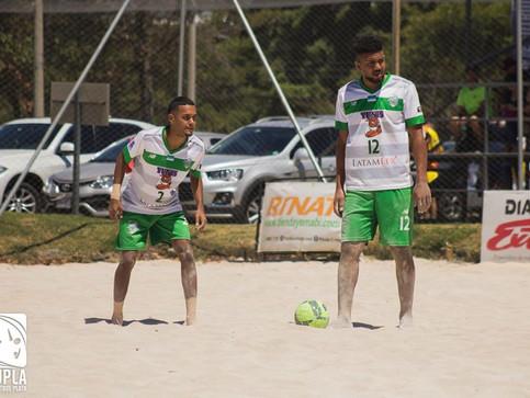 Yunis Limón camina a paso firme en la Liga de Futbol Playa