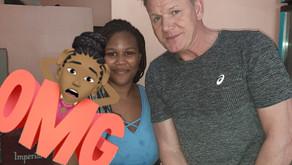 Reconocido chef Gordon Ramsay pasea por el Caribe degustando platillos locales