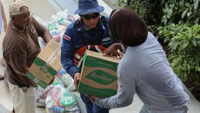 Familias limonenses empiezan a recibir diarios de alimentos y kits de limpieza