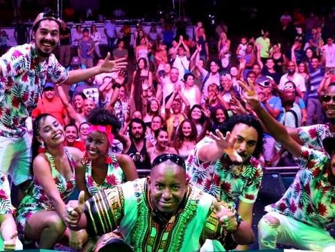Así fue la noche de cultura caribeña en el Festival de Artes de Costa Rica.