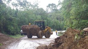 Ruta 32 permanecerá cerrada por malas condiciones del tiempo.