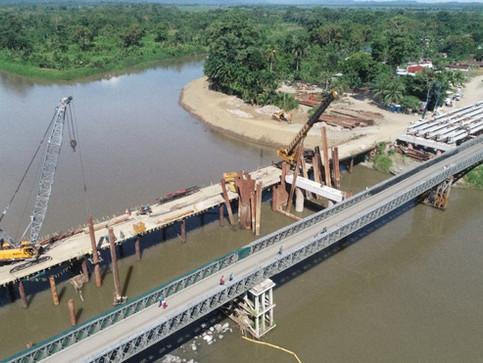 Puente binacional en Sixaola estará listo a principios del 2020