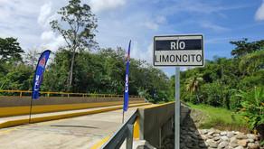 Nuevo puente en el distrito de Blanco beneficiará a 350 personas
