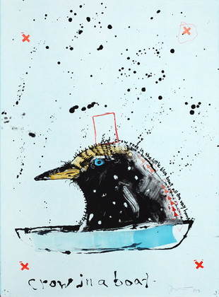 Rick Bartow, Crow in Boat