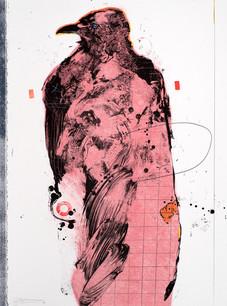 Rick Bartow, Facing Left Raven