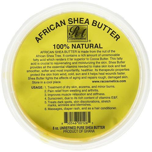 RA Cosmetics African Shea Butter 8 oz