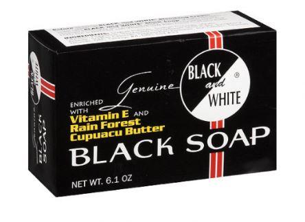 Genuine Black & White Black Soap