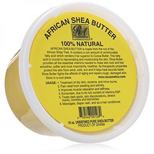 RA Cosmetics African Shea Butter 16 oz