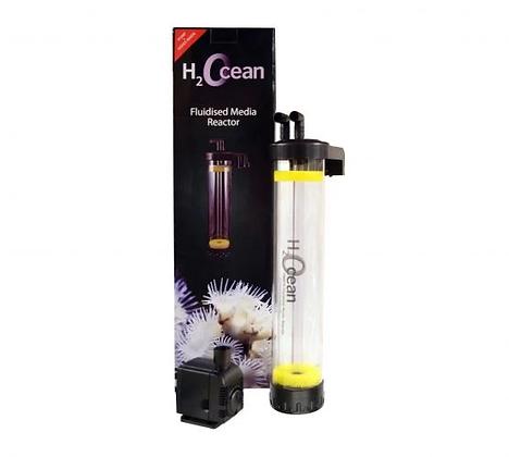 D-D H2Ocean Fluidized Reactor with Pump