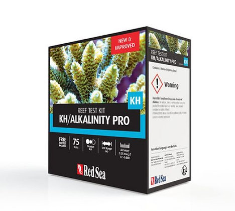 Red Sea Alkalinity Pro Titrator Test Kit