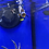 Thumbnail: Black ice snowflake clown pair - COLLECTION ONLY