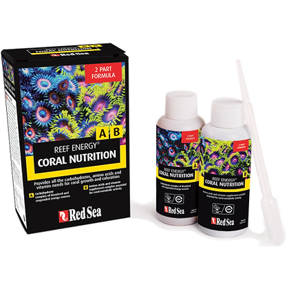 Red Sea Reef Energy A B 2-Part Formula – Intro Pack