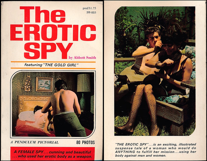 "The Erotic Spy, featuring ""The Gold Girl"" (Vintage Paperback, 1968)"