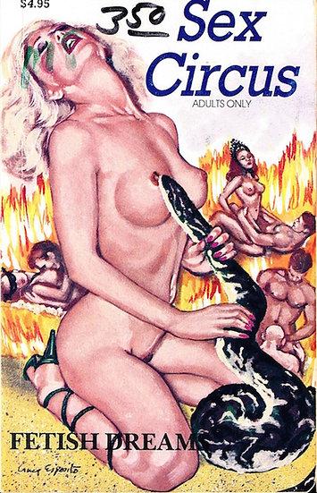 Fetish Dreams (4 vintage adult paperbacks, 1992-94)