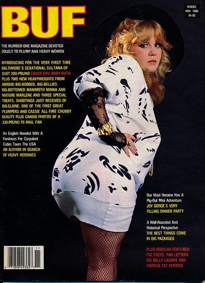 BUF [The Big Up Front Swinger] (Vintage adult magazine)