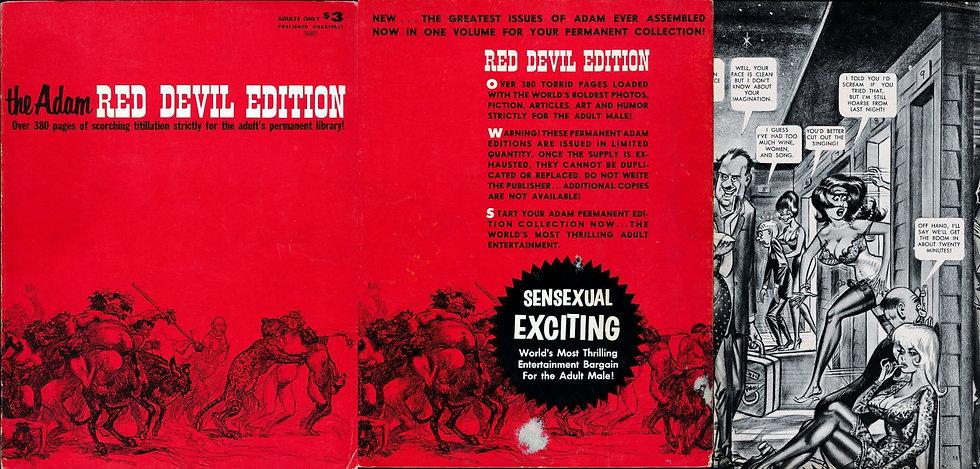 Adam: Red Devil Edition (Vintage adult magazine anthology)