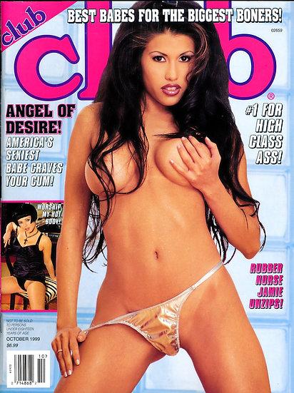 Club (Vintage adult magazine, Angel cover, 1999)