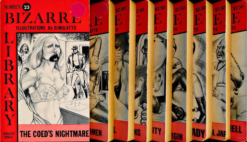 Bizarre Library (9 Vintage Paperbacks, 1970s)