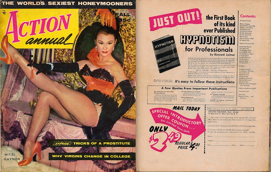 Action [Annual] (vintage pin-up magazine, 1956)