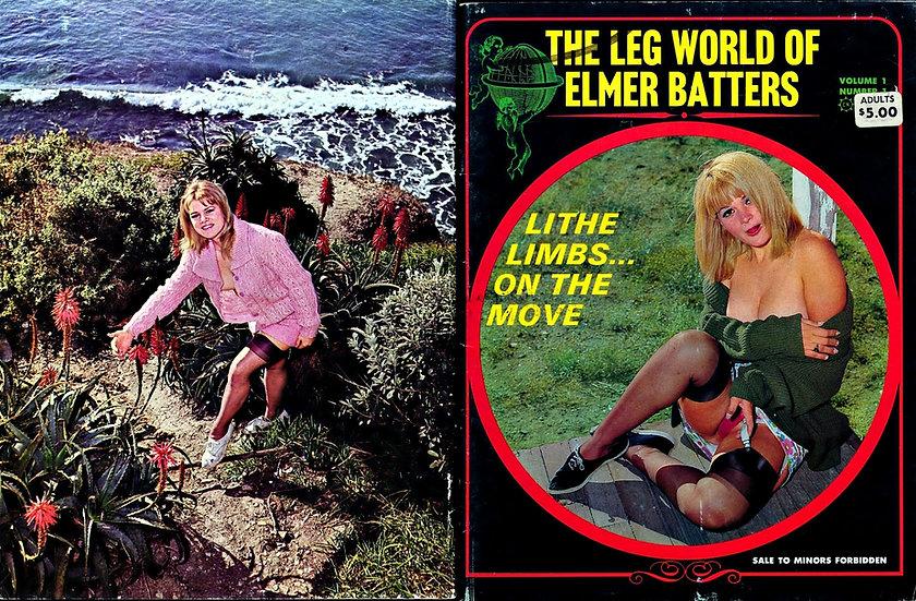 The Leg World of Elmer Batters (Vintage adult magazine, premiere issue, 1967)