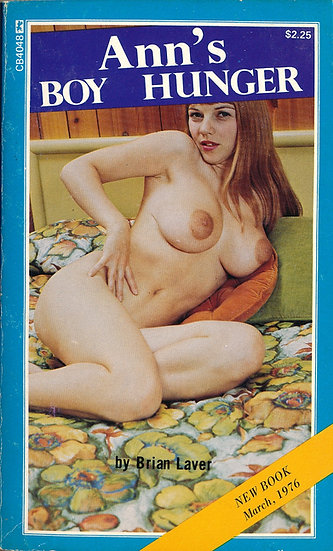 Ann's Boy Hunger (Vintage adult paperback, Michelle Angelo cover, 1976)