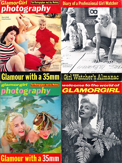 Glamorgirl Photography [Glamor Girl Photography] (2 pin-up magazines, 1959)