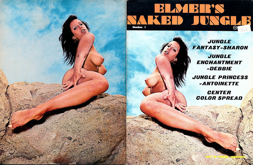 Elmer's Naked Jungle (Vintage adult magazine, premiere issue, 1969)