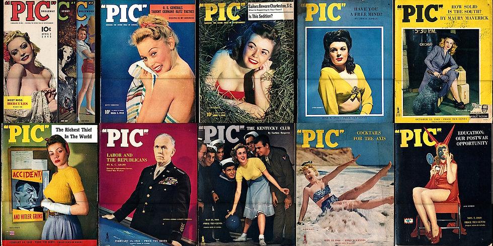 Pic (10 vintagemagazines, 1940-44)