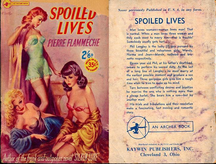 Spoiled Lives (Vintage digest paperback)