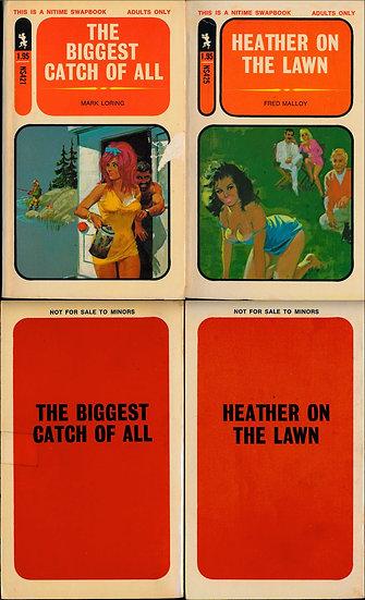 Greenleaf: Nitime Swapbook (2 vintage adult paperbacks)